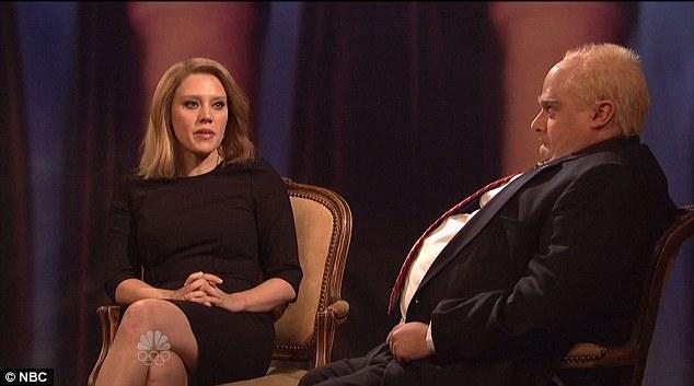 Two birds: SNL managed to poke fun at Lara Logan and Toronto Mayor Rob Ford in the same skit