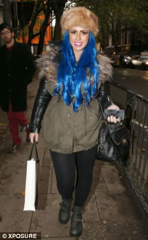 Vicky's co-star Holly Hagan, above, was also arrested at the time of the incident - but has now been cleared