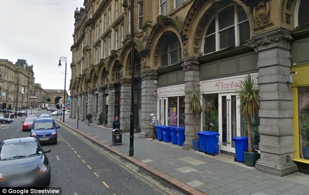 There was an alleged fracas at Florita's Bar in Newcastle city centre, pictured, which left a teenager hurt