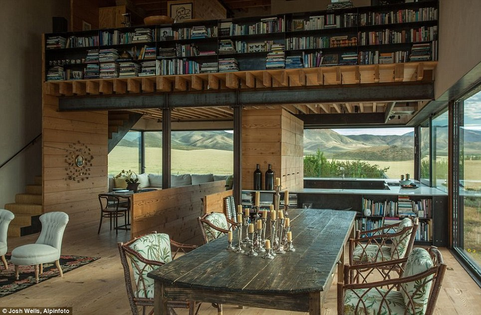 Simplicity: The home is strikingly simple even for architect Tom Kundig, whose award-winning work is known for its uncomplicated forms