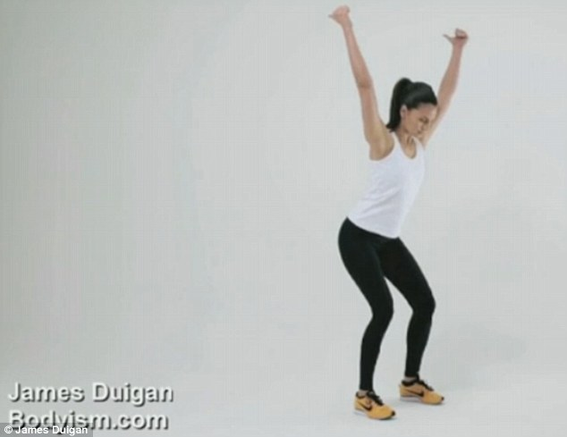 The Y exercise demonstrated in Duigan's exclusive video