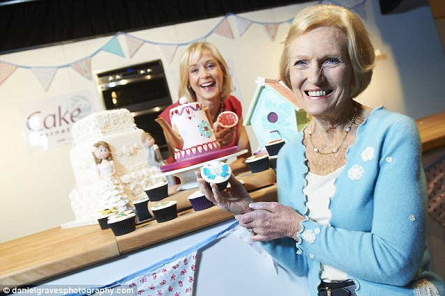 Mary Berry and Mich Turner attended the show, alongside 25,000 visitors