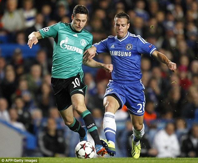 Pedigree: Julian Draxler has been playing for Schalke in the Champions League