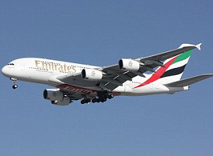 The Airbus A380 superjumbo jet, pictured, was launched in 2005