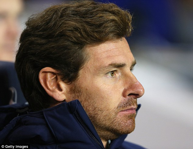 Blow: Andre Villas-Boas was to be without Eriksen until the new year but an MRI showed a sprain not a rupture