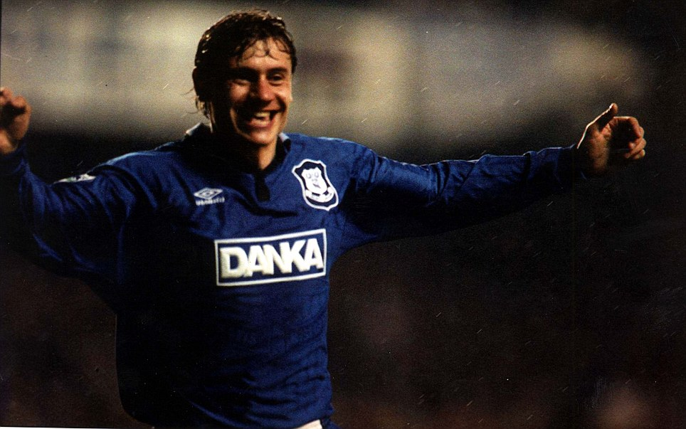 Premier League great: Andrei Kanchelskis made quite a name for himself during his time in England, impressing at Manchester United and  Everton