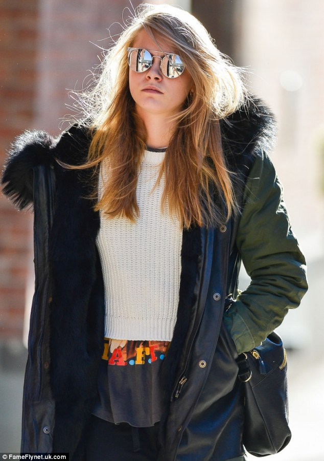 Essence of cool: Cara is said to be preparing to take on her biggest role yet in Michael Winterbottom's Amanda Knox-inspired film