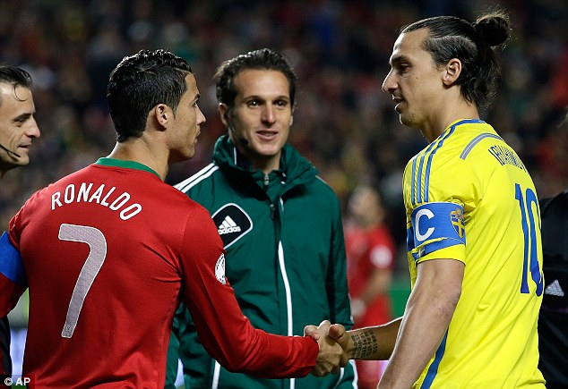 Zlatan or Ibra? Only one of these two world class players will be travelling to Brazil