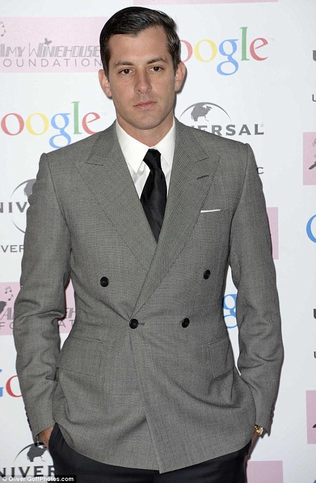 Dapper: Producer Mark Ronson was a good friend of Amy Winehouse