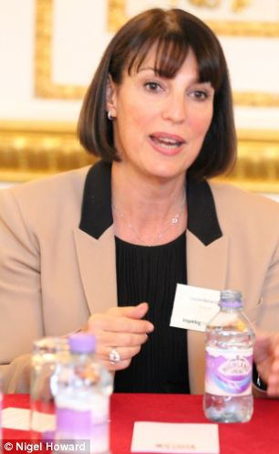Improvement: Chief executive Carolyn McCall, pictured, said the airline had a surge in customers - many pensioners and businessmen - following the change in policy