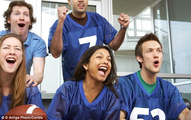 Perfect girl? Men say willingness to look after them and allowing them to watch sports - or even better, enjoy it - is important