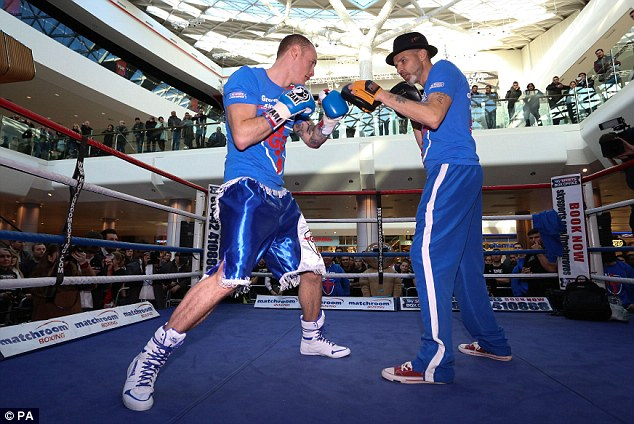 Trust: Groves says in the end his results are up to his own hard work, but he also needs great support