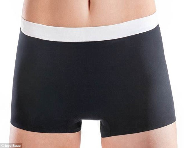 Smooth operator: The bodiBase knickers have a reinforced gusset to help prevent unsightly camel-toe