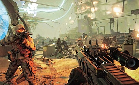 Killzone is as thunderingly generic as its name suggests - this instalment's 'big idea' is a hovering robot you command by stroking the touchpad on the controller
