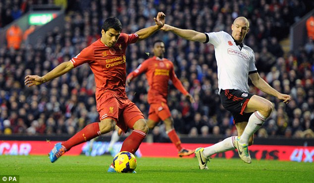 Controversial: But Uruguay forward Luis Suarez is a consistently influential and decisive player for Liverpool