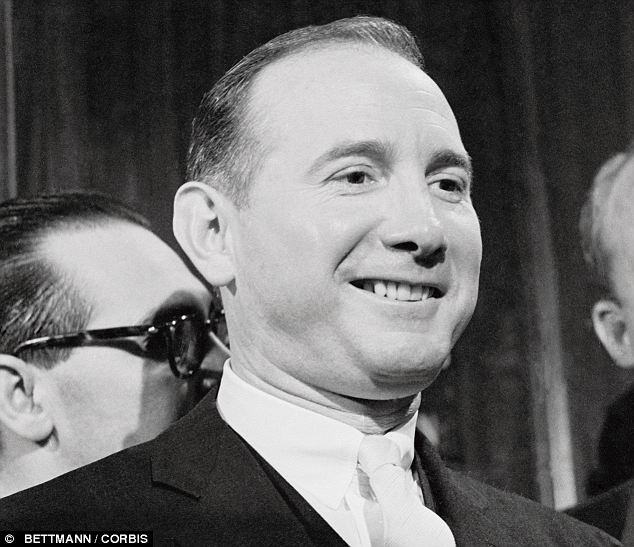 Wheeler and dealer: These salacious revelations were made public by Robert Gene 'Bobby' Baker (seen in 1964) who rose through the ranks in Washington and became a close personal aide to President Johnson