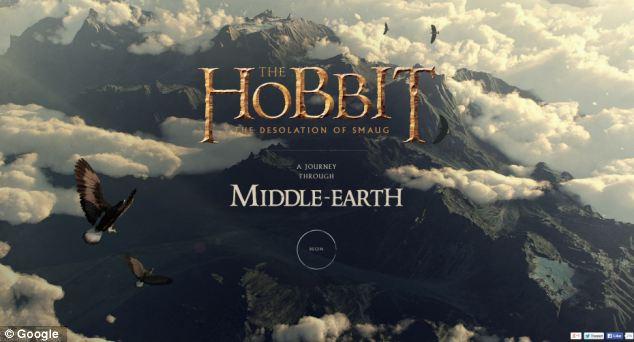 Google Hobbit map
