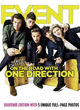 World exclusive: Event magazine goes on the road with Harry Styles and the 1D boys