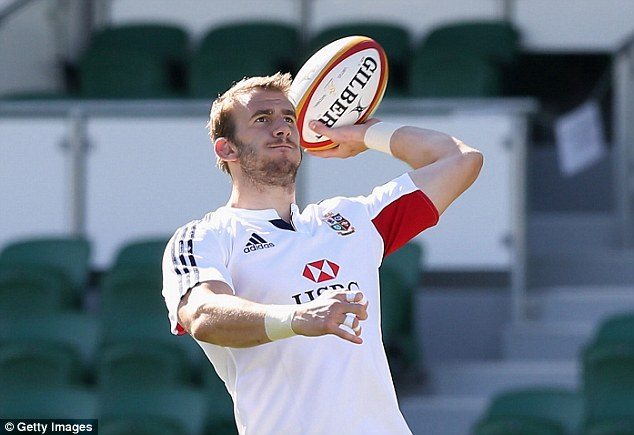 One of many: Tom Croft has been ruled out for the entire season with injury