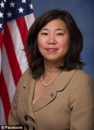 New York State Democratic Representative Grace Meng is another possible victim of the game in Washington. She was walking home from dinner in the district when someone punched her and stole her Gucci purse.