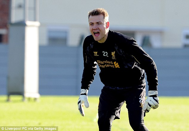 Safe hands: Rodgers signed Belgian goalkeeper Mignolet from Sunderland in the summer