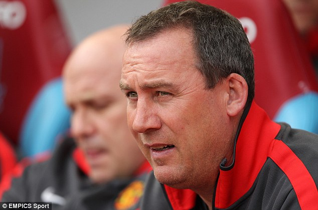 On board: Meulensteen has several years experience at Manchester United under his belt