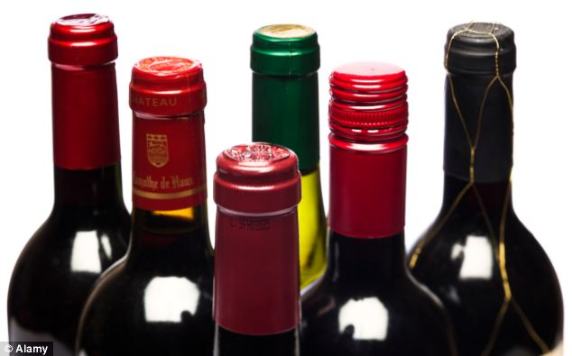 Red wine seems to be the most beneficial, but as with any medicine taking too much can be harmful