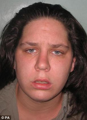 Connelly pictured in 2009 when she was jailed