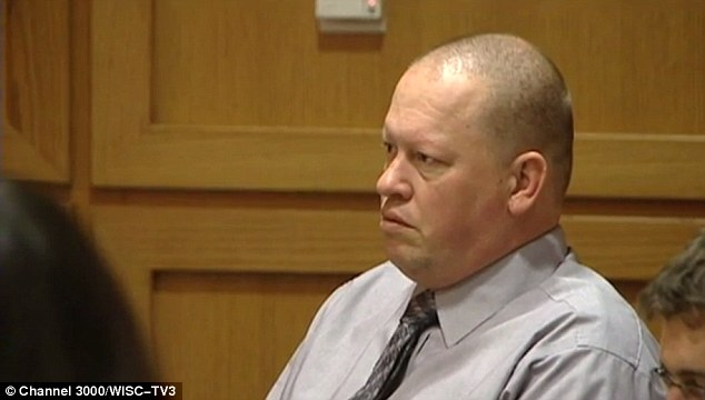 Failed father: Chad Chritten, 42, was found guilty of starving and neglecting his daughter for a number of years until she escaped wearing only pajamas