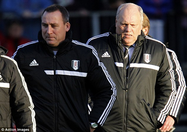 Double dutch: Rene Meulensteen and Martin Jol have their work cut out for them in the weeks ahead