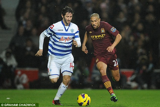Underachiever: Esteban Granero (left) didn't hit the heights he was expected to in the top flight