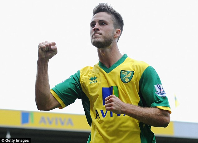 Affordable? Ricky van Wolfswinkel and Norwich are struggling so far this season in the Premier League