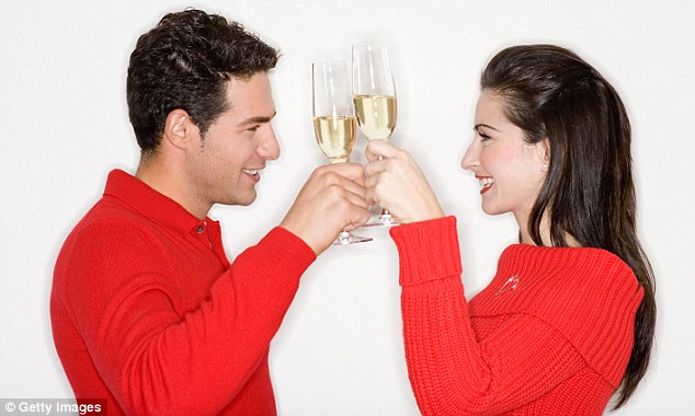 Women can't drink as much as men is that they have far fewer of the enzymes we've developed to detoxify alcohol (picture posed by models)