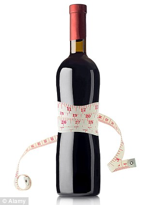 Could alcohol be reducing glucose levels at the same time, thus helping to keep weight down?