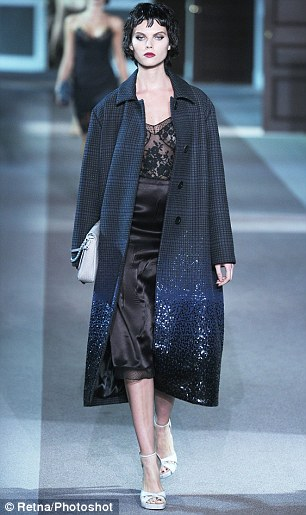 Dream dressing for the Christmas party: Louis Vuitton's negligee dress