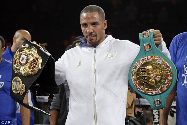 Ultimate challenge? Carl Froch would like a rematch with Andre Ward (above), one of the world's very bestUltimate challenge? Carl Froch would like a rematch with Andre Ward (above), one of the world's very best