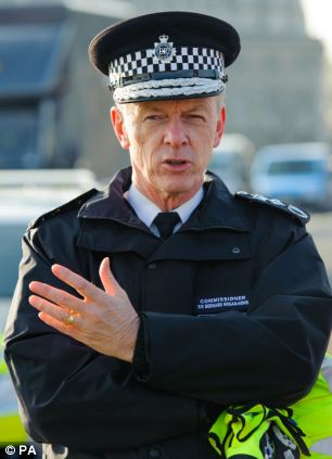 Clamp-down: Sir Bernard Hogan-Howe wants unofficial meetings between police and press to stop