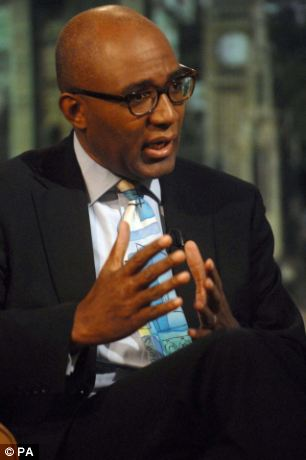 Concerns: Trevor Philliips said Britain was ¿in denial¿ about growing levels of racial division