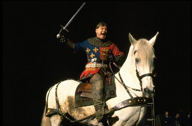 Proud History: Kenneth Branagh as Henry V in the film adaptation of the patriotic Shakespeare play