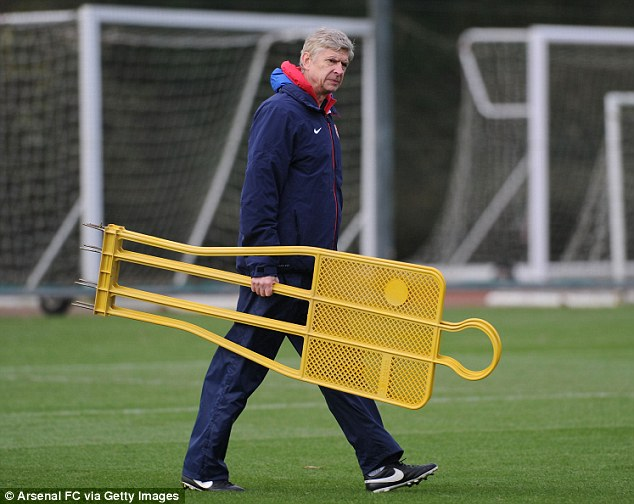 Preparation: League-leading Arsenal are searching for a first trophy since they won the FA Cup in 2005