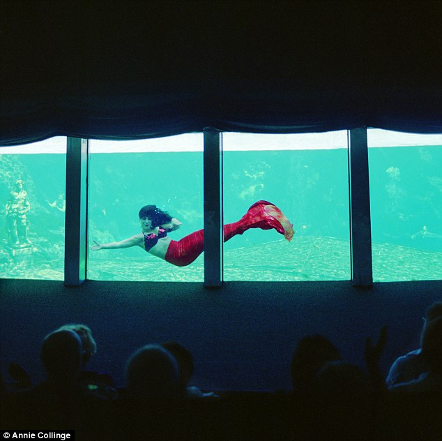 Real-life mermaid: The Weeki Wachee Springs, one of the oldest roadside attractions in Florida, has the Mermaid Theater which has drawn visitors for decades