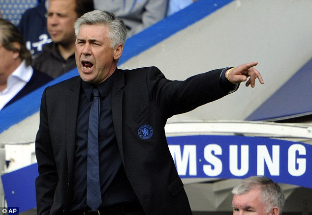 Angry: Carlo Ancelotti spoke of one player that he tried to 'kill' because he showed disrespect