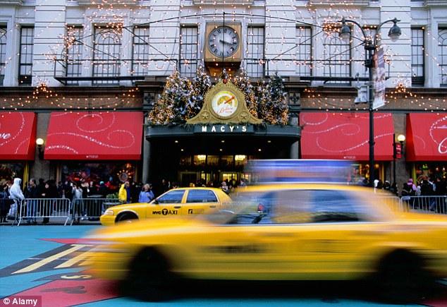 Bargain buys: The study claimed that U.S. stores were selling items at 2012 prices to undercut London stores