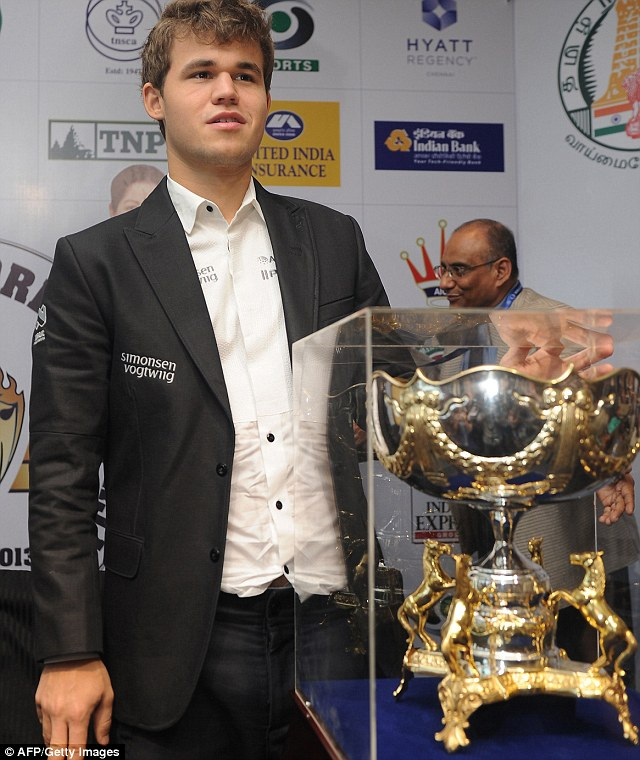 Norwegian prodigy Magnus claimed the world chess title last week in emphatic style, dethroning India's Viswanathan Anand after a one-sided series and becoming the first Western champion since 1975