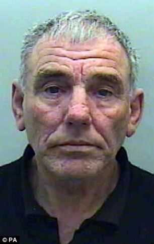 Guilty: Pensioner John Bidmead  was jailed for 19 years for abusing young girls and having thousands of indecent images on his computer