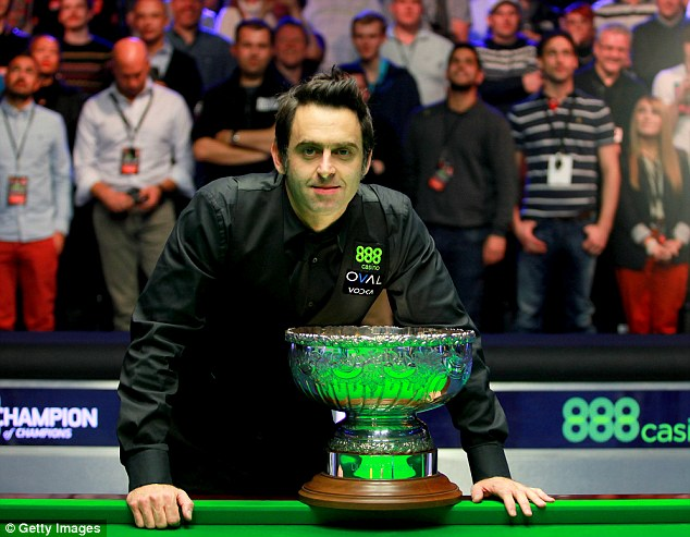 Rocket man: O'Sullivan is another sportsman at the top of his game who has succumbed to mental illness