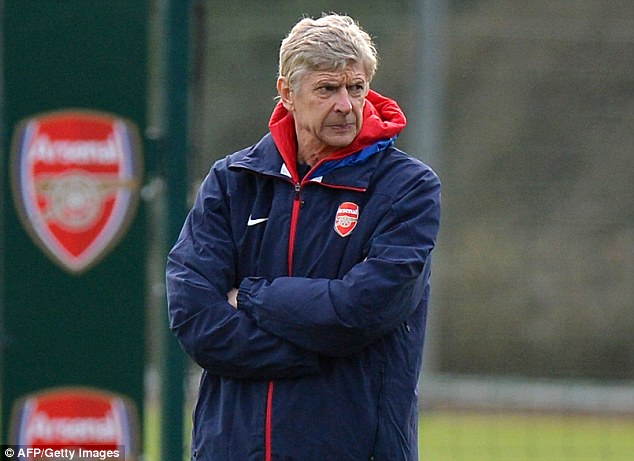 Watchful eye: Gunners boss Arsene Wenger believes Ramsey can push on to become a world class player