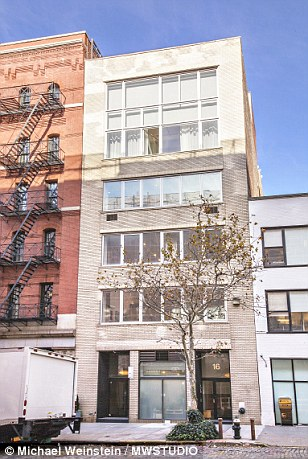 A girl's house: The TriBeCa apartment home to Girls-creator Lena Dunham's parents is currently on the market for $6.25million