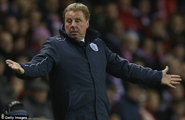 Former boss: Harry Redknapp believes Spurs looked like strangers during their 6-0 defeat against Man City