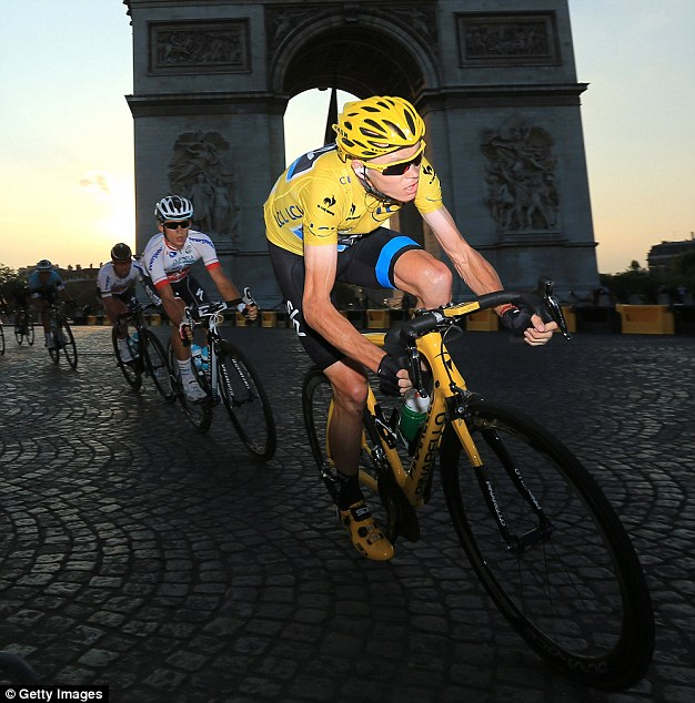 Chris Froome became only the second Briton to win the Tour de France after Sir Bradley Wiggins